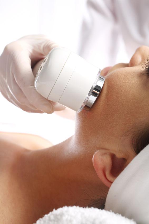 34708518 - ultrasound beauty treatment